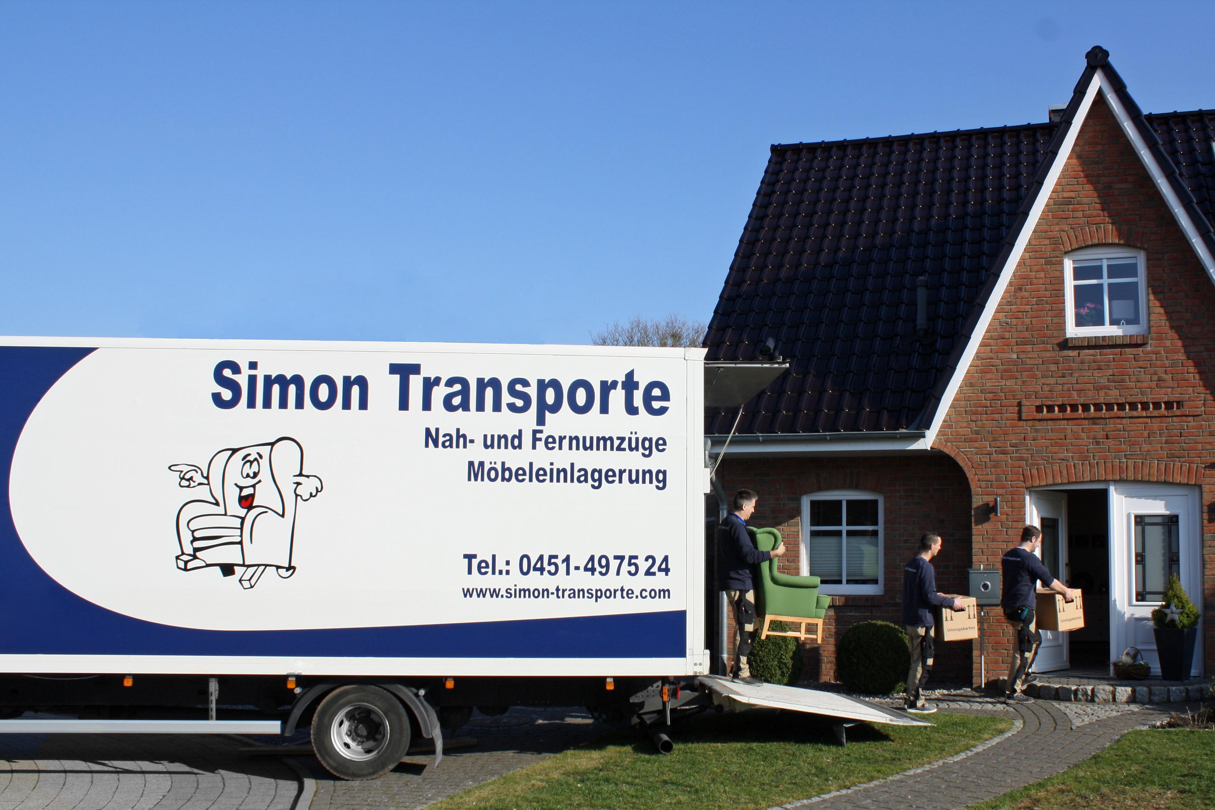 Simon-Transporte.com bei der Arbeit